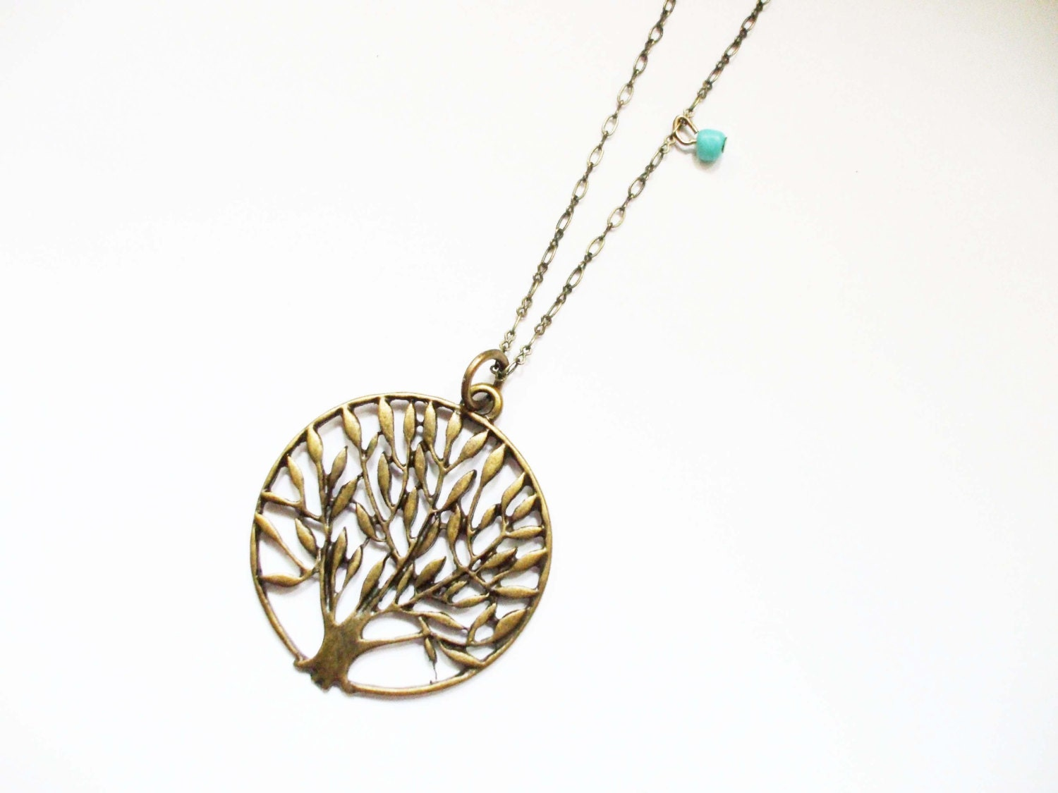 boho necklace tree of life necklace simple long layering. Black Bedroom Furniture Sets. Home Design Ideas