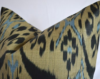 organic ikat, ikat pillow cover 20x20, sofa ikat, ikat cushion,