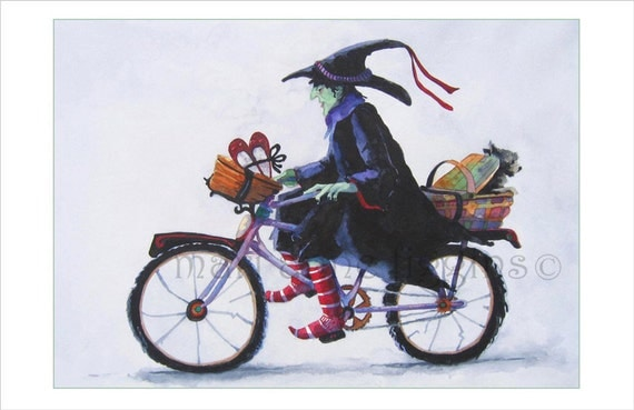 Items Similar To Halloween Card Wicked Witch Of The West Witch