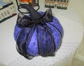 Purple Mottled Pumpkin