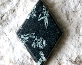 Chinese Writing Stone Cabochon , Chinese Writing Stone Cab, Cabochon, Stone Cabochon