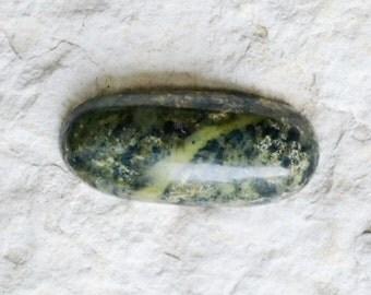 Serpentine Cabochon - Serpentine Cab - Green Serpentine Stone - Oval Cabochon