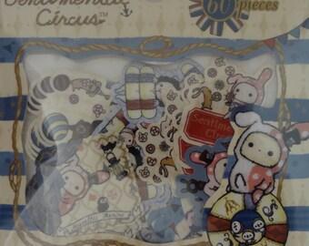 San-X Sentimental Circus Sticker Sack - B