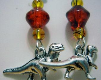Jurassic Park Earrings