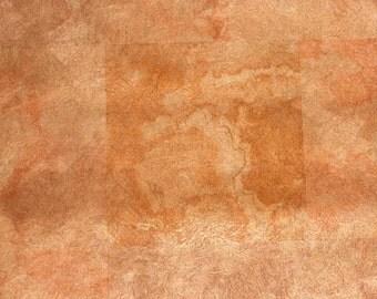 metallic...vintage copper look wallpaper
