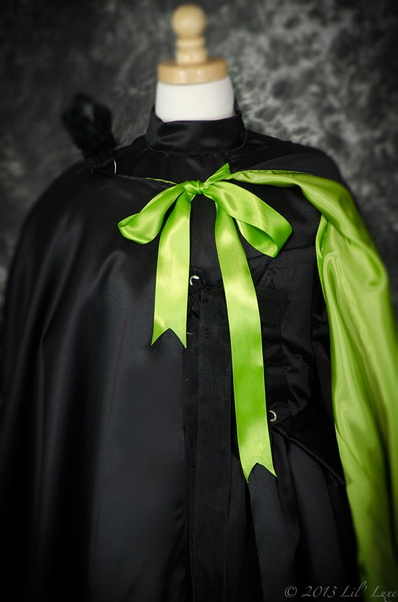 Wicked Witch of the West CAPE for WOMENS Halloween Costume of