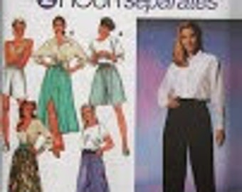 Misses Separates Sewing Pattern Simplicity 9940