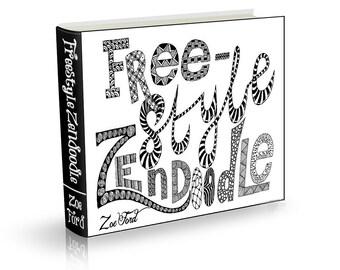 Freestyle Zendoodle E-Book, Instant Download, PDF