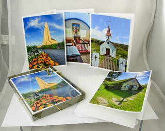 Icelandic Churches, Note Card Set of (4)
