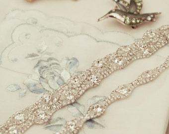 Wedding Bridal Party Rhinestone Crystal Bracelet Cuff with Button Closure