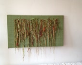 Fiber Art Wall Hanging - Tendrils II
