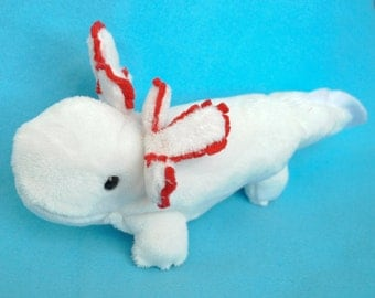 Axolotl Plushie - Choose Your Colors MADE TO ORDER