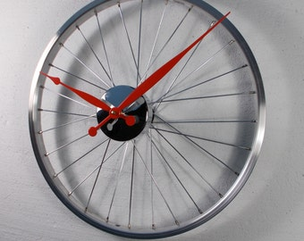 Bicycle Wheel Clock for Sasha