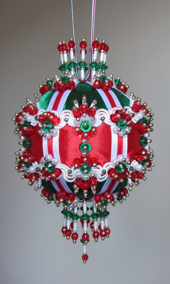 beaded ornament kit river by glimmertree