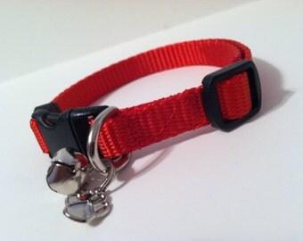 Cat Collar in Basic Red