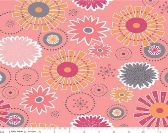 Gracie  girl cotton in pink - 1 yard