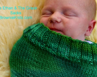 The Ethan & The Grace Sacks: KNIT PATTERN