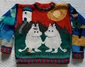 Knitting Pattern: Moomintroll Size Five Years