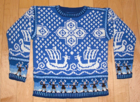 Viking Patterns For Knitting : Knitting Pattern: Viking Ship Five Years