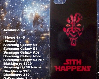 Star Wars - Sith Happens - mobile phone case Samsung Apple Blackberry HTC