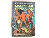 Vintage The Hardy Boys  Hunting for Hidden Gold  1928 Young Adult Adventure Series