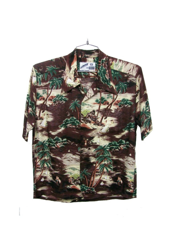 Swinger hawaiian shirt
