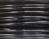 Hypo Allergenic Wire 24 gauge  Viking Knit crochet Black Wire 12 ft