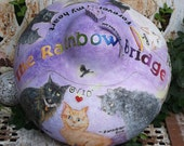 Custom Organic Gourd Cremation Urn for Beloved Beasts, Prices and Sizes Vary, Small Custom Portraits Available