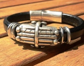 engraved bracelets, leather wrist bands, personalized mens gifts, personalized bracelets, personalized leather bracelets, teacher gifts