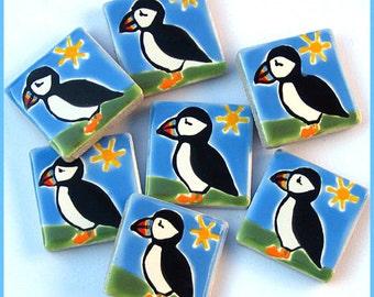 Puffin Magnet, Fridge Magnet, Bird Magnet, Stationary Magnets, Gift for Teacher, Seabirds