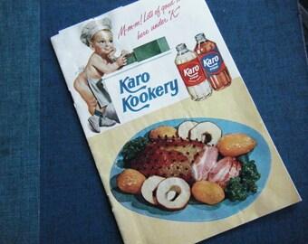 Price reduced ... Vintage 1949 Karo Kookery cookbook booklet Karo syrup