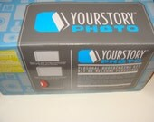 YOURSTORY PHOTO Personal bookbinding kit with extra covers inside 28 total New in original box SALE