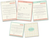 INSTANT DOWNLOAD - Basic Photography Forms Templates - 0797