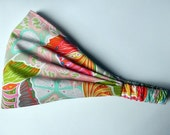 Yoga Headband Cotton Bandana - Valori Wells for Free Spirit - Cocoon, Liv in Nectar fabric
