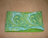 Dog Diaper - Male Dog Belly Band - Green Paisley - Available in all Sizes