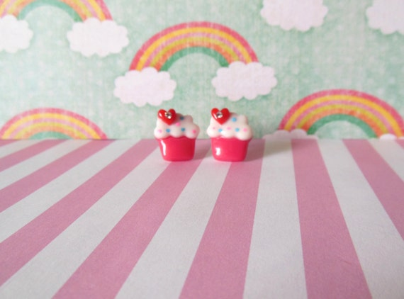 Yummy Cupcake Earrings