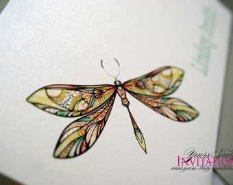 Dragonfly Note Cards or Thank You Cards