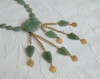 Green Garden Aventurine Necklace