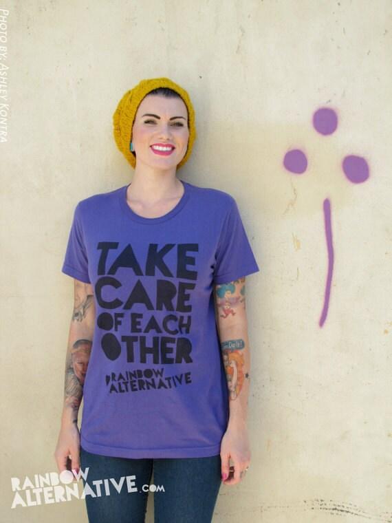 Take Care Of Each Other: Take Care Of Each Other T-shirt LGBT LGBTQ Pride Ally T Shirt