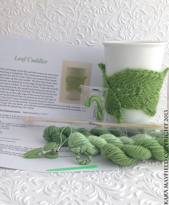 Leaf Knit Kit