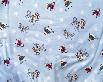 Lounge pants pajama dorm flannel made to order your choice size XS - 2X shopping snow women print