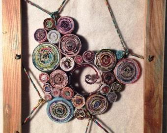MY HEART BEATS - paper coil