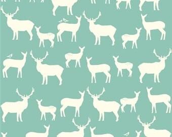 Organic KNIT Fabric - Birch Elk Grove Knits - Elk Fam Pool