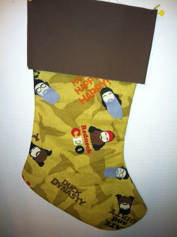 Duck Dynasty Christmas Stockings