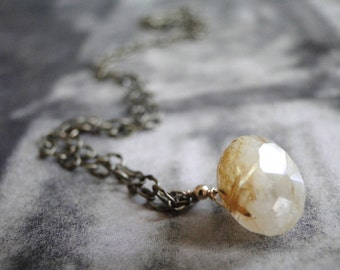 LAST CALL SALE Jewelry, Necklace, Quartz Gemstone Necklace, Accessories, Gift for Her, Gift Box