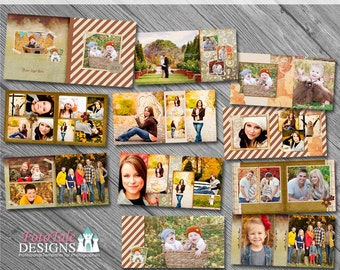 Press Printed Photo Album -Enchanted Fall 10x10 Album - 20 pages - WHCC and Miller's Lab Specs