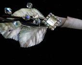 Alternative,  wedding,  brooch bouquet boutonniere