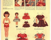 Printable Betsy McCall Paper Dolls January-December 1952 Whole Set