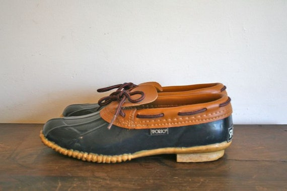 Vintage Duck Shoes Sporto 80s Rain Booties 8 8 5