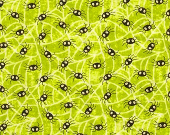 Jeepers Creepers Spiders - Henry Glass Fabrics